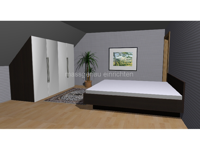 leipzig dachschr gen ma m bel schrank und regal f r ihre dachschr ge zur seite oder nach hinten. Black Bedroom Furniture Sets. Home Design Ideas