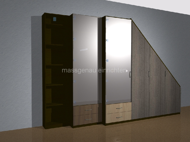 leipzig dachschr gen ma m bel schrank und regal f r ihre. Black Bedroom Furniture Sets. Home Design Ideas