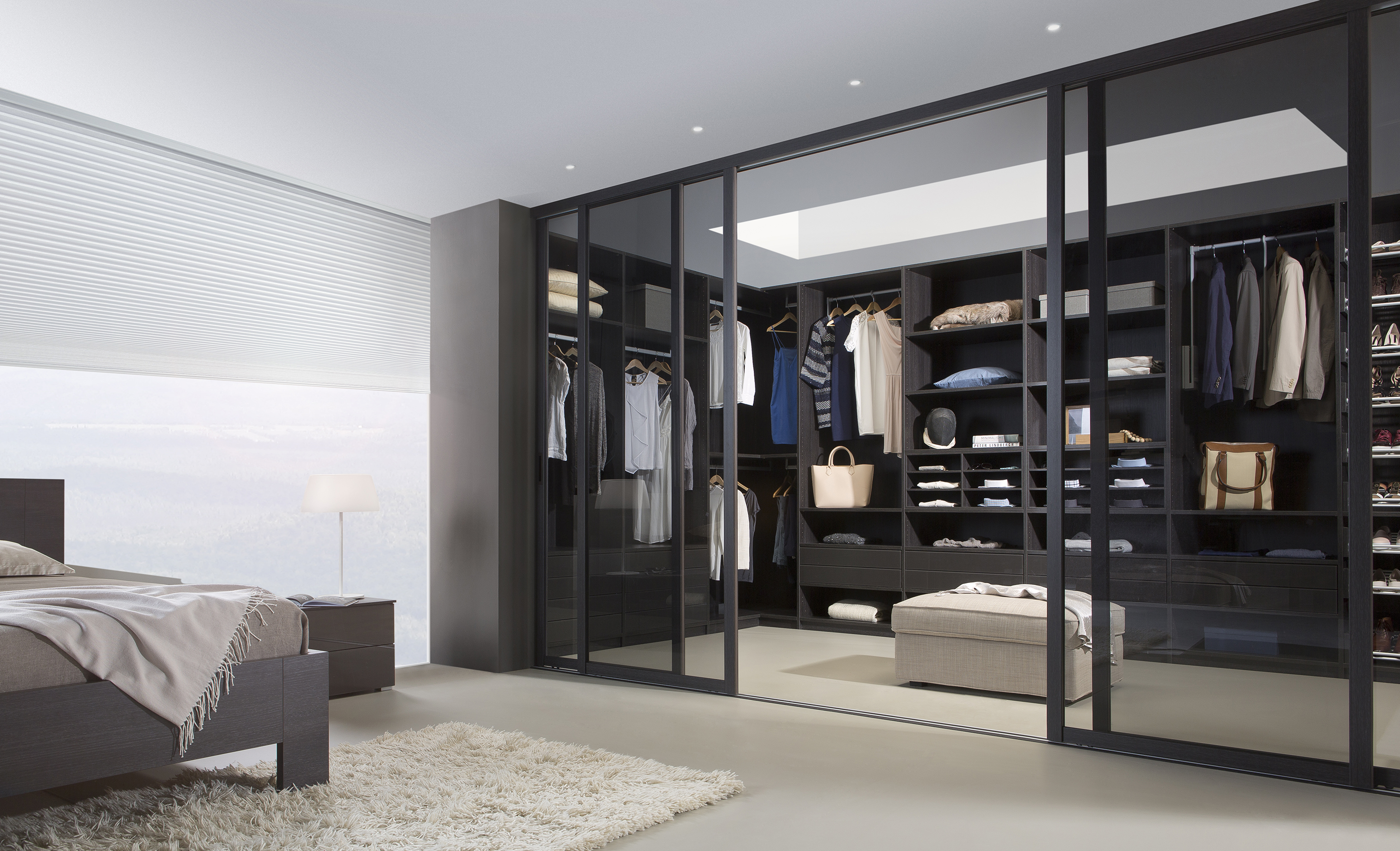 begehbarer kleiderschrank ma e neuesten. Black Bedroom Furniture Sets. Home Design Ideas