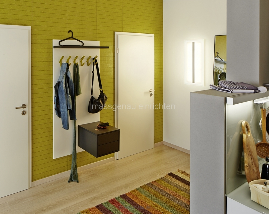 garderobe schuhschrank dielen m bel flur schrank nach mass. Black Bedroom Furniture Sets. Home Design Ideas