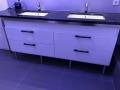 Waschtischunterschrank als massgenaue Maßanfertigung für Leipzig