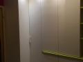 Einbauschrank Eckschrank mit LED-Beleuchtung