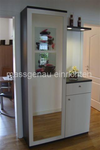 Flurmöbel Dielenmöbel Garderoben - Maßmöbel für Flur Diele Garderobe ...