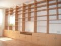 Bibliothek Anbauwand Maßanfertigung vom Möbeltischler Leipzig Dresden