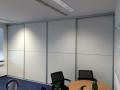 Akkustik Schiebetüren in einem Büro als Schallabsorber