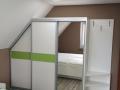 Schlafzimmer komplett mit Schwebeürenschrank