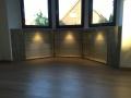 001_Sideboard Glas-Vitrine als Nischeneinbau mit LED Beleuchtung