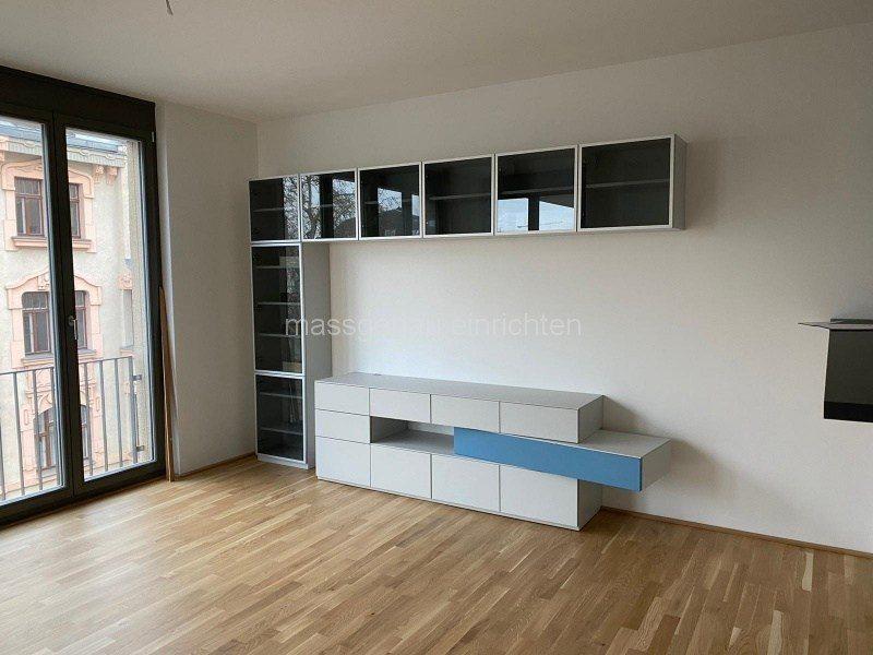 Wohnzimmer Wohnwand nach Mass gefertigt