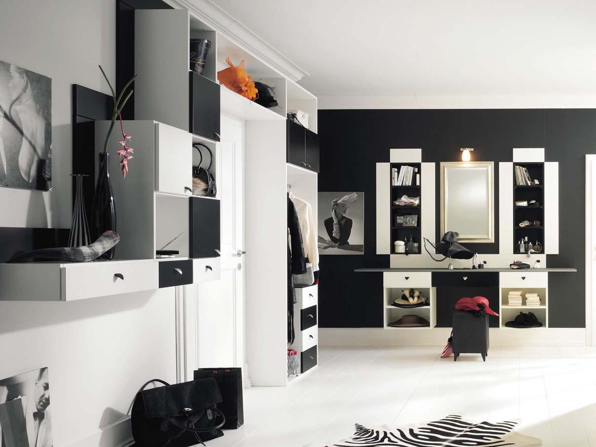 garderobe schuhschrank dielen m bel flur schrank nach mass. Black Bedroom Furniture Sets. Home Design Ideas