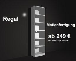 Regale Maßanfertigung Regalsystem nach Maß für Region Leipzig Dresden