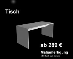 Tisch nach Maß und Wangentische als Maßanfertigung Leipzig Dresden