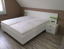 Bett und Schlafzimmermöbel Maßanfertigung