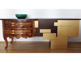 Sideboard nach Maß gefertigt und erweitert